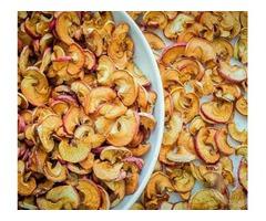 Сушеные сухофрукты из яблок