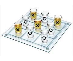 Игровой набор со стопками «Крестики-нолики»