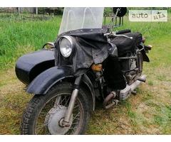 Продам мотоцикл с коляской Днепр МТ10-36
