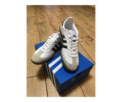 Мужские кроссовки Adidas Samba white