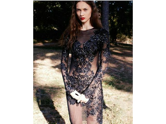 59ce838eac54 ... Изысканные брендовые вечерние платья, выпускные платья, короткие коктейльные  платья - 5 9 ...