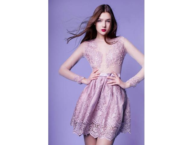 76d7edb22314 ... Изысканные брендовые вечерние платья, выпускные платья, короткие коктейльные  платья - 7 9 ...