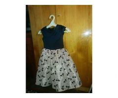 Красивое платье, рост 134