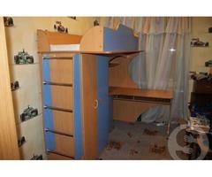 Продам кровать-чердак с матрасом