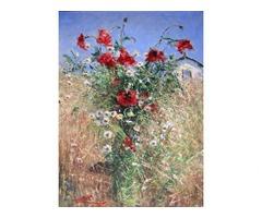 Продам натюрморт художника В. Григорова `У садибі`