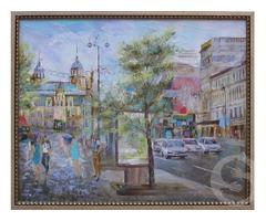 Продам картину: городской пейзаж Киев