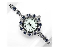 Продам серебряные наручные часы