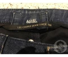 Джинсы с серебром Lee Cooper