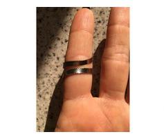 Кольцо с жемчугом регулируемое