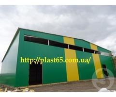 Производство ангаров, Украина, производство складов, быстровозводимых зданий под ключ.