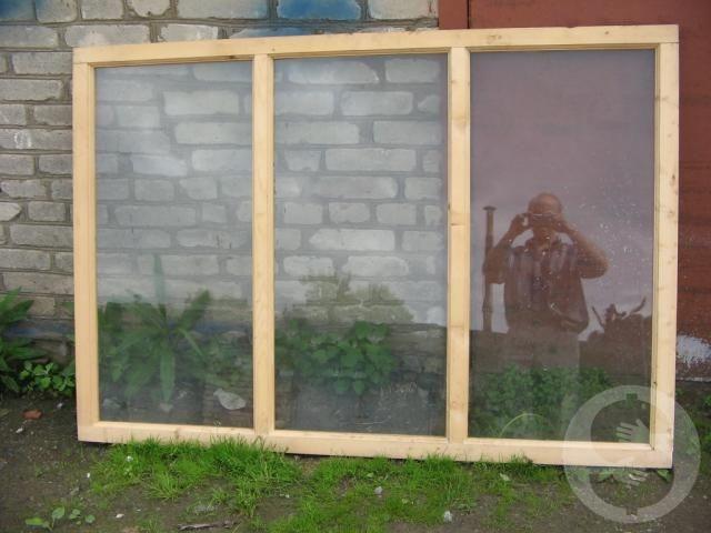 Продам оконные/ дверные рамы из дерева - 1/2