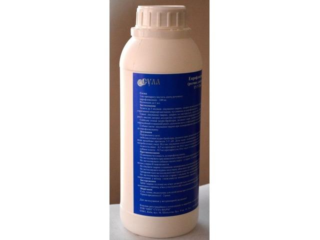 Енрофлоксацин 10% оральний, 1л - 1/1