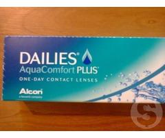Линзы контактные DAILIES aqua