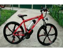 Электро-велосипеды складные