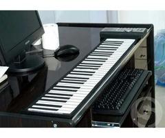 Цифровое гибкое Roll-Up midi пианино